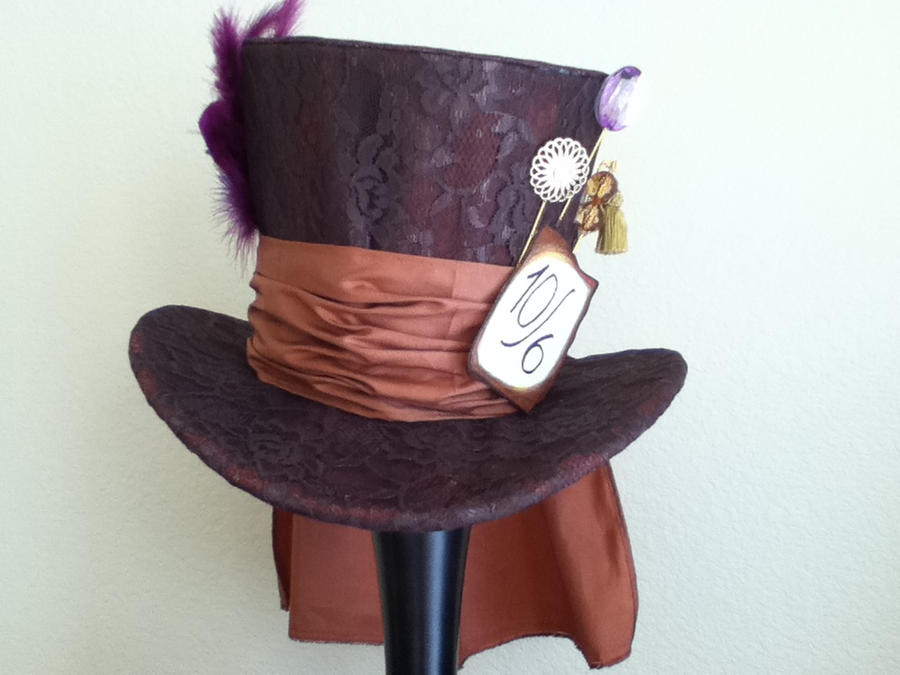 Mad Hatter top hat by PandoraLuv on DeviantArt