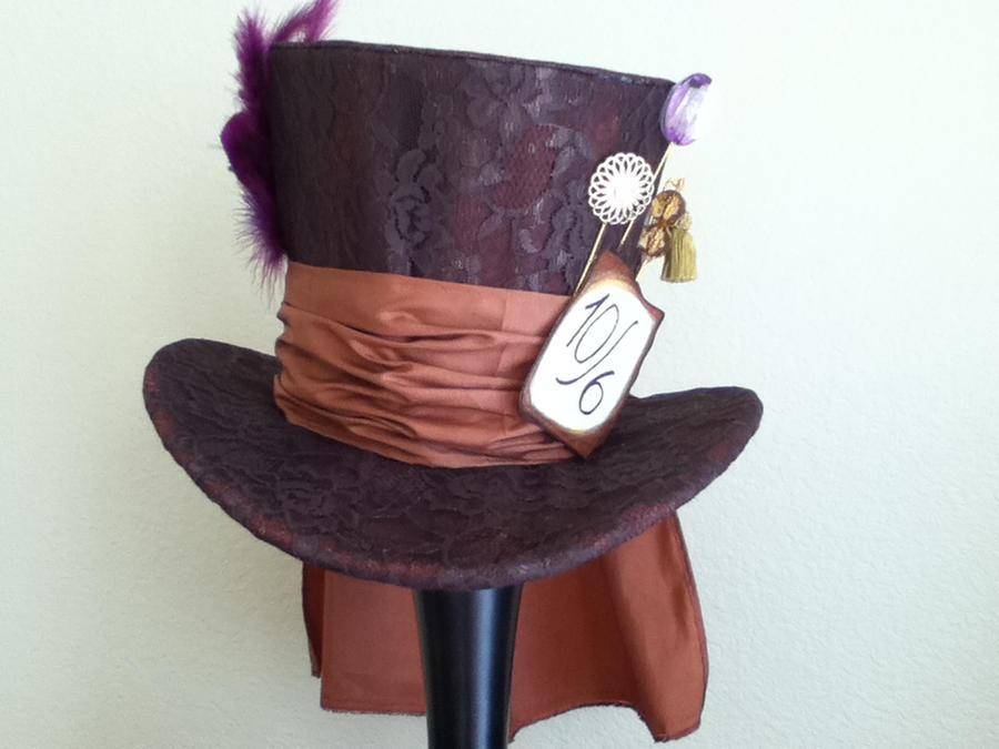 Mad Hatter top hat by PandoraLuv on DeviantArt