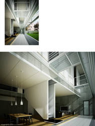Japan House Renders