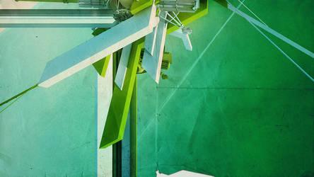 Little Green Monster by ev-one