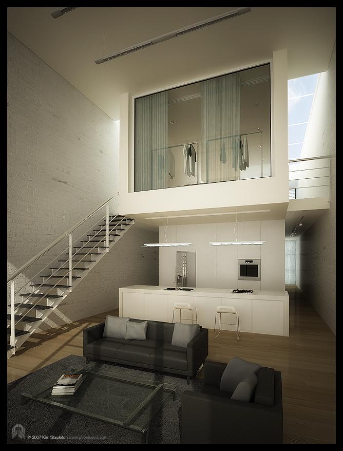 Lounge_Kitchen_ Interior_1 by ev-one