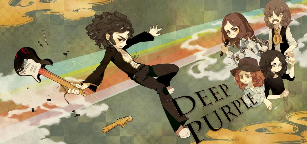 Deep Purple by wasawasawa