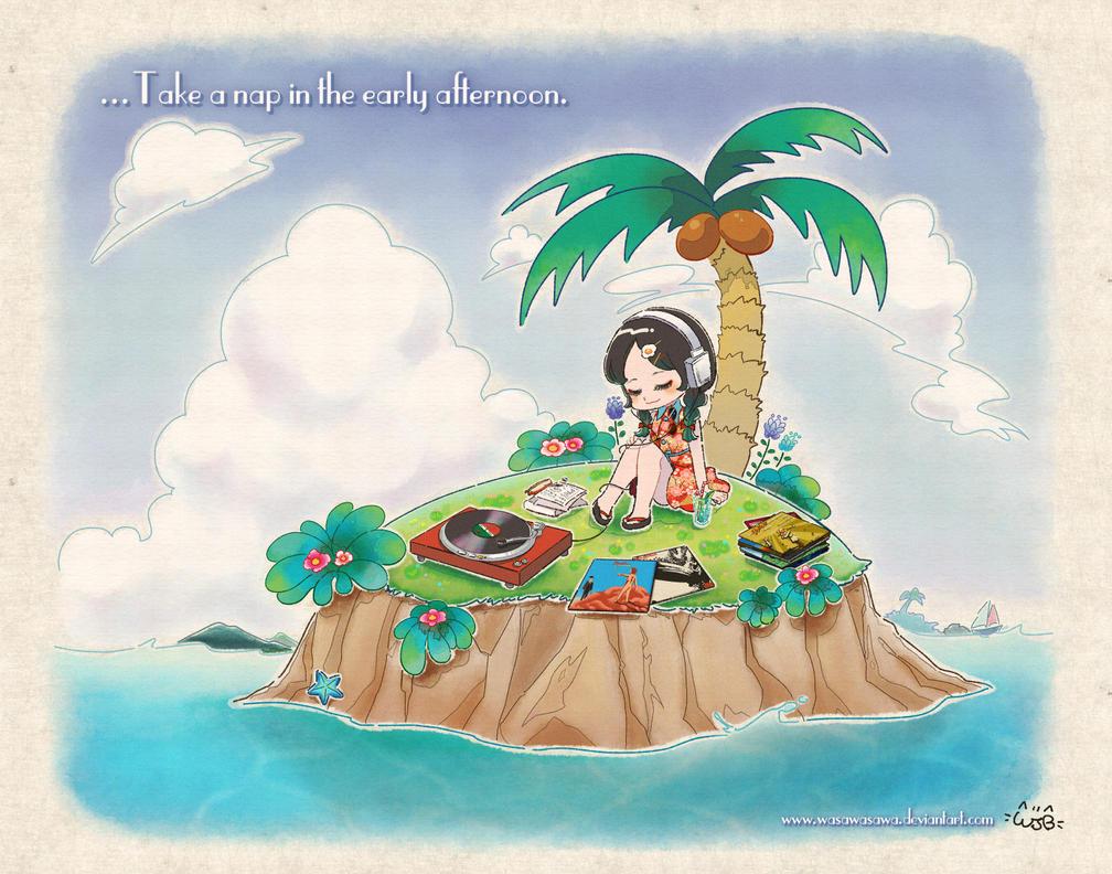 Island by wasawasawa
