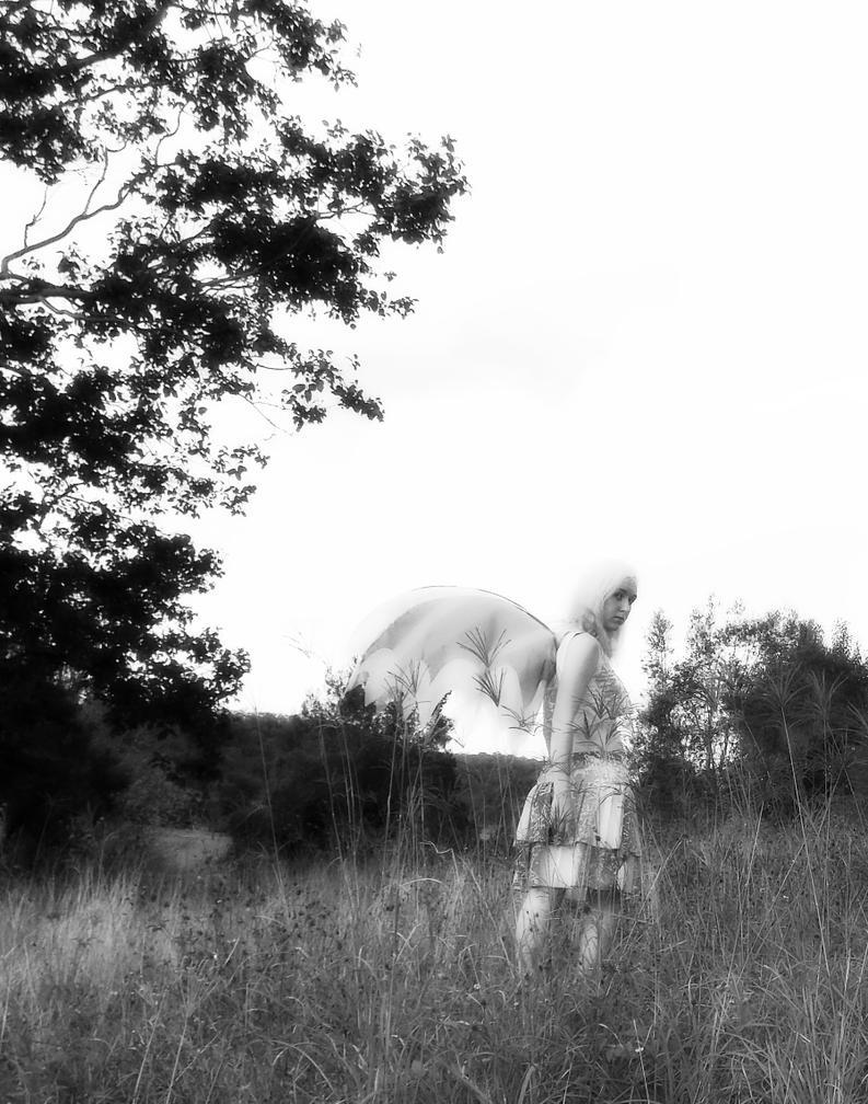 Fluoro Fairy 11 (B+W) by monstatofu2011