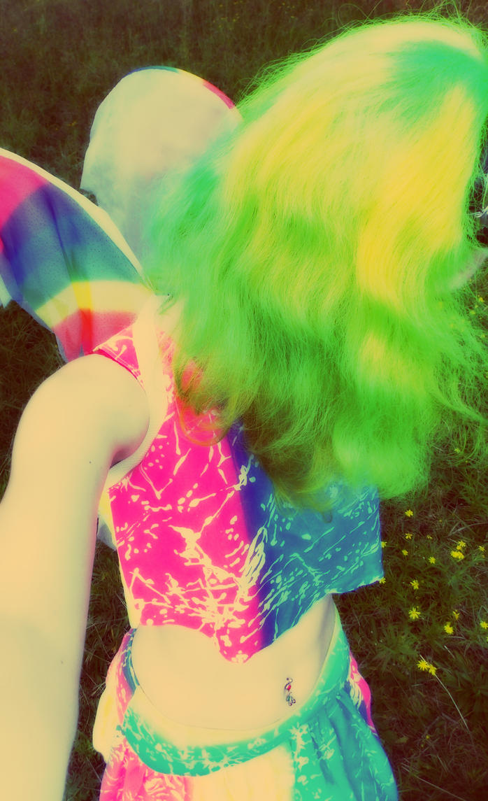 Fluoro Fairy 9 by monstatofu2011