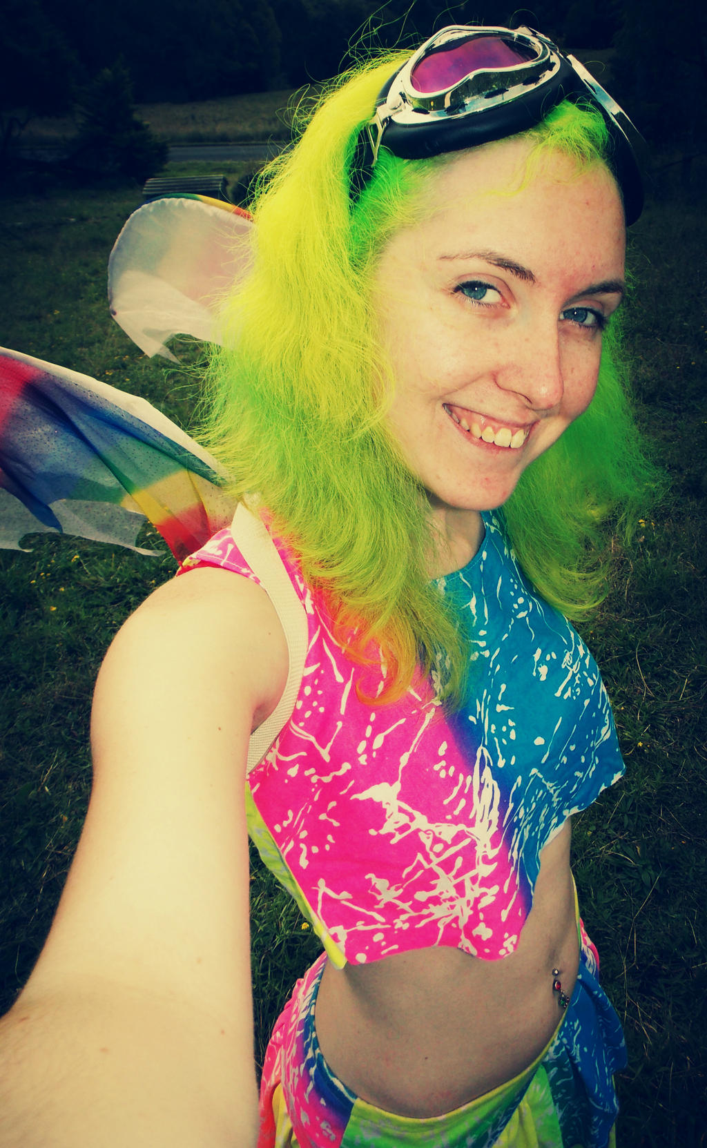 Fluoro Fairy 5 by monstatofu2011