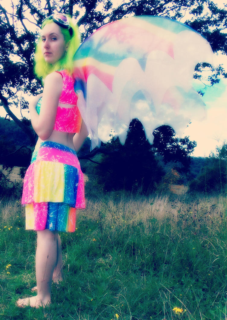 Fluoro Fairy 4 by monstatofu2011
