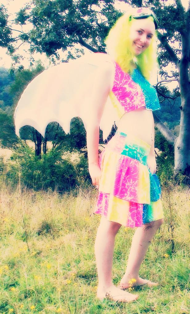 Fluoro Fairy 3 by monstatofu2011