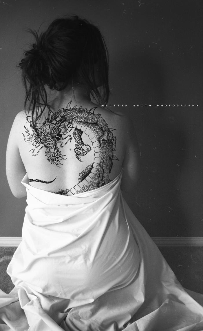 Girl with the Dragon Tattoo by BOMBATTACK