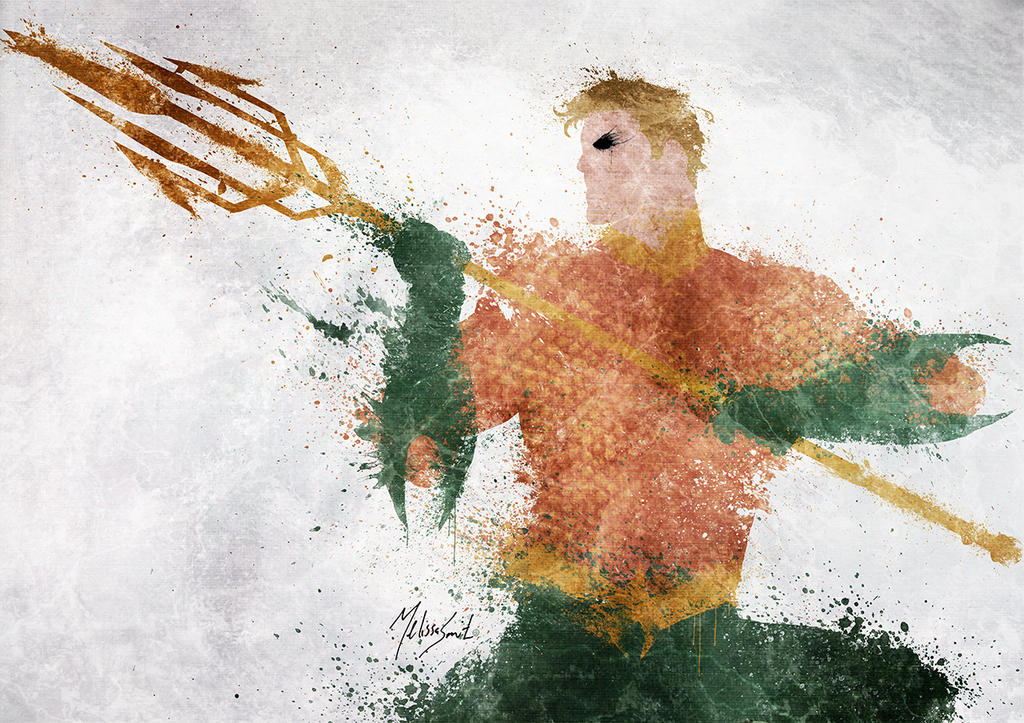 Aquaman by BOMBATTACK