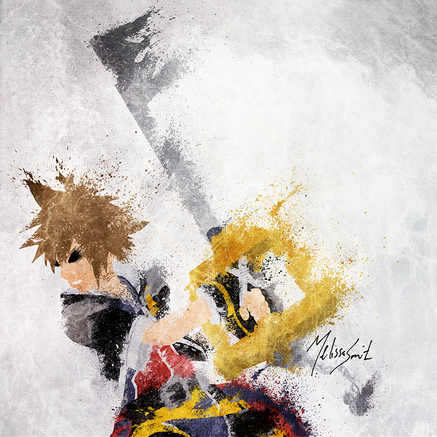 Kingdom Hearts - Sora by BOMBATTACK