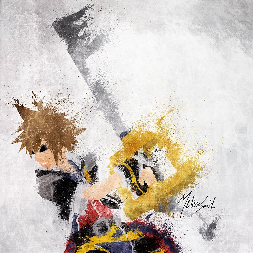 Kingdom Hearts - Sora by BOMBATTACK