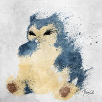 Snorlax by BOMBATTACK