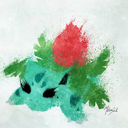 Ivysaur by BOMBATTACK