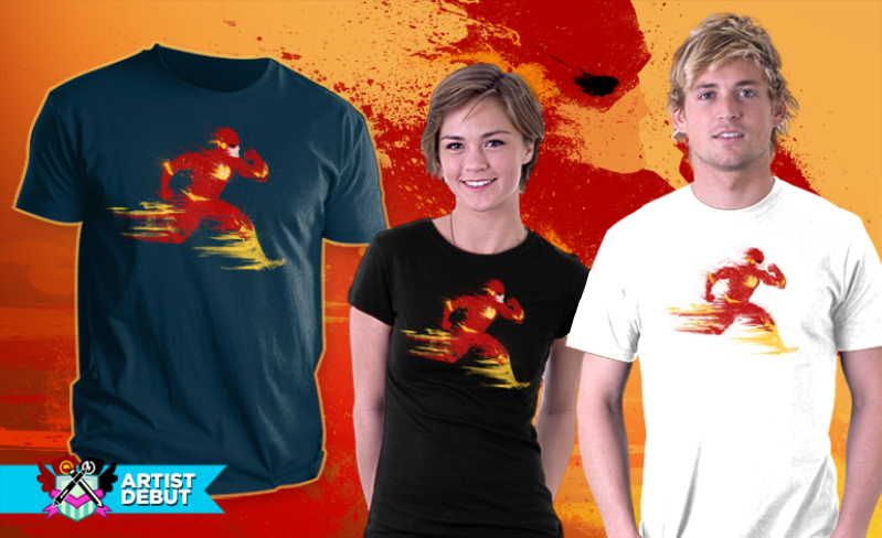 Speed live at Teefury! by BOMBATTACK