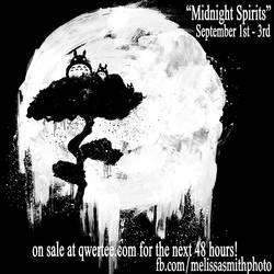 Midnight Spirits on sale at Qwertee