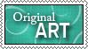 I support - Original Art by GreenPop