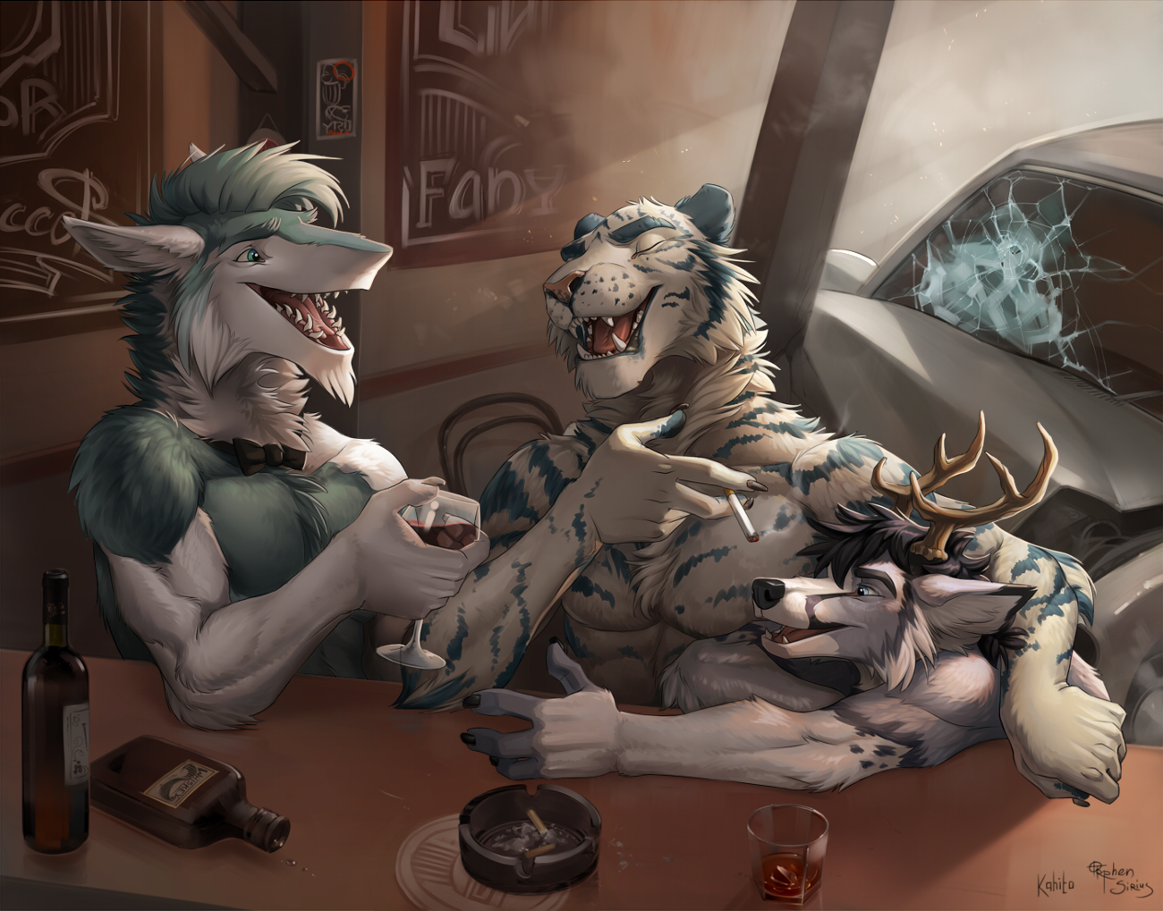 Aperitifs by Kahito-Slydeft