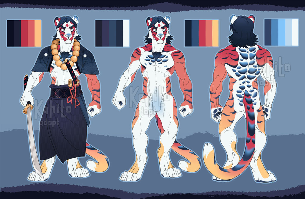 Shusui koi-tiger adopt (CLOSED) by Kahito-Slydeft