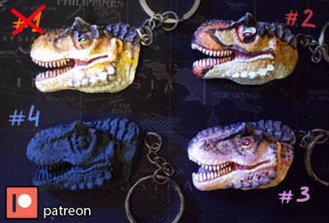 Dino keychains [FOR SALE]