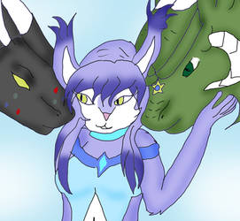 One Lynx and Two Dragons