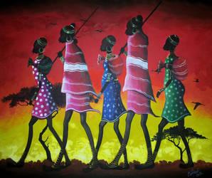 Tribe by shonefluoart