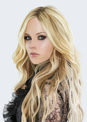 Avril Lavigne by titchykrust