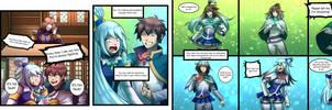 Kazuma and Aquas Freaky Friday-TG Comic Page 1