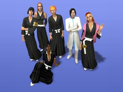 My Bleach Sims by CelticDragon0