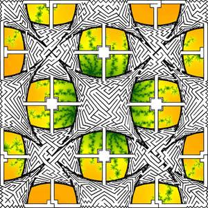 13 Stars maze 2