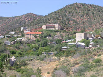 Jerome, Arizona by scottVee