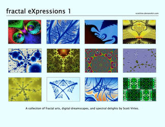 fractal eXpressions - all by scottVee