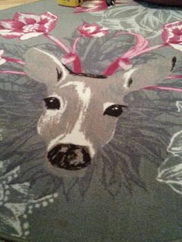 My deer carpet