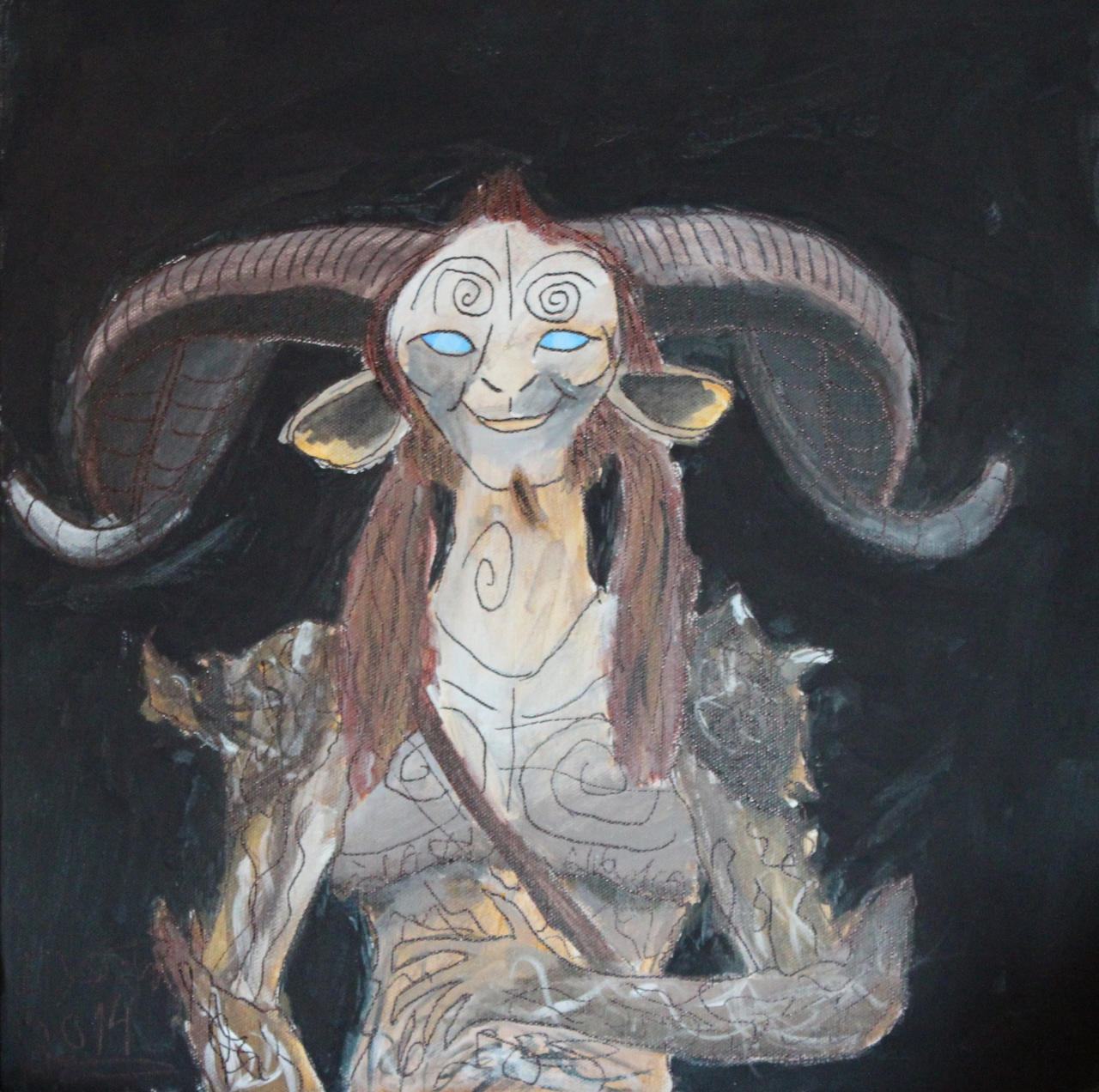 Faun from Pans Labyrinth by EysteinKN on DeviantArt