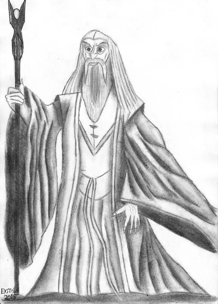 Saruman the White. by EysteinKN
