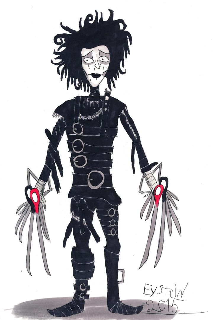 Edward Scissorhands by EysteinKN