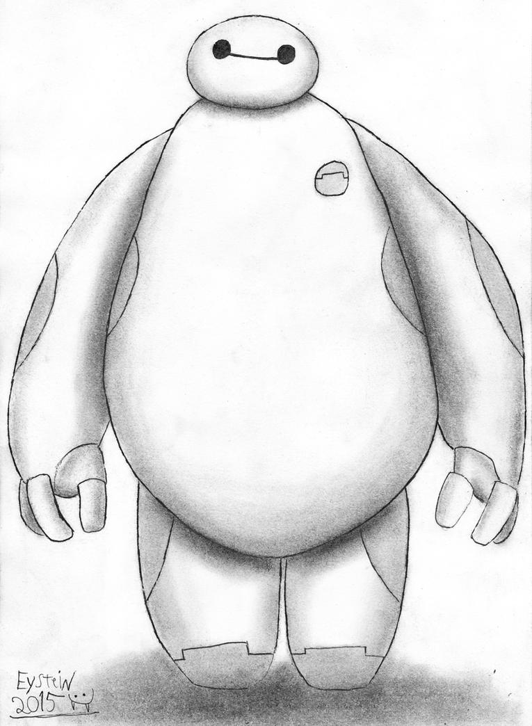 Baymax from Big Hero 6 by EysteinKN