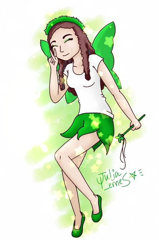 Jenn like Tinker Bell by julialemes0