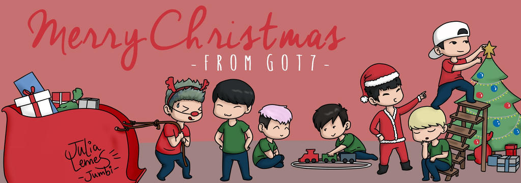 GOT7 - Christmas Party by julialemes0 on DeviantArt