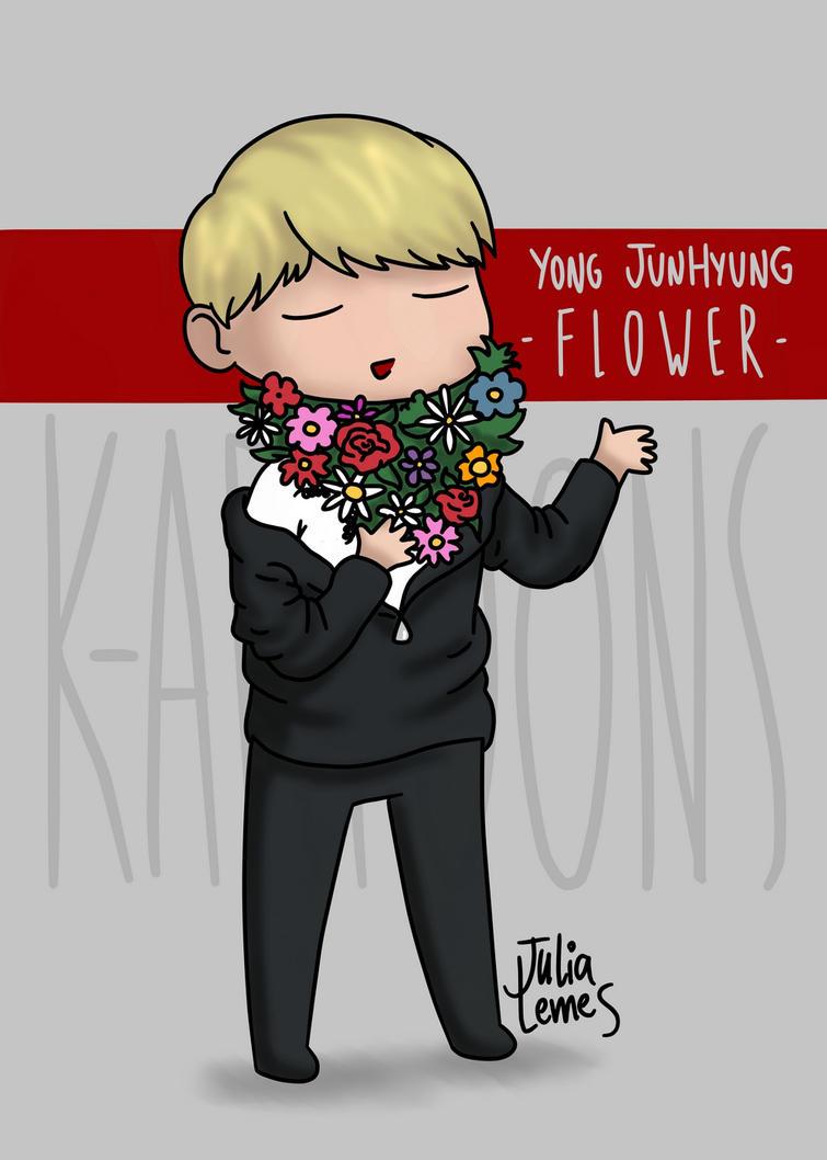 Yong Junhyung FLOWER by julialemes0