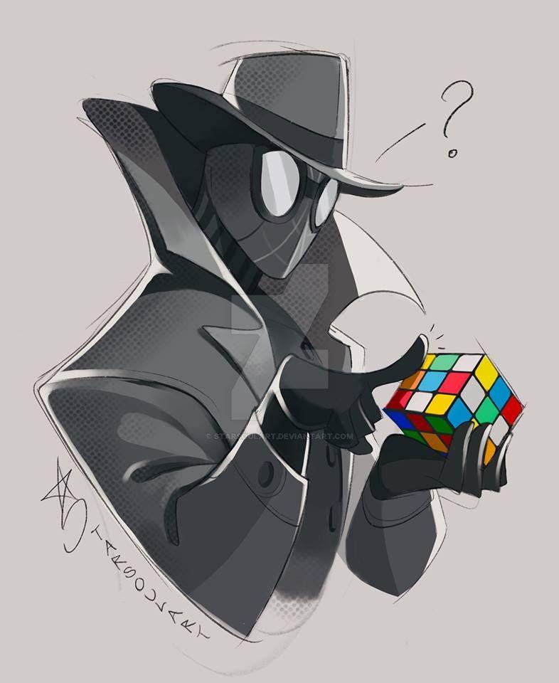 Spidey Noir by StarSoulArt