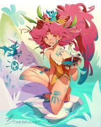 Cavegirl by StarSoulArt