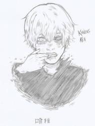 Kaneki Ken by AngieInes