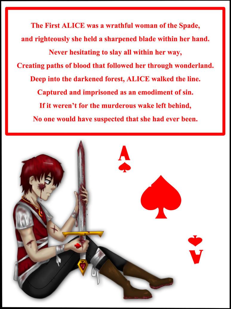 Sasori Alice Card by AkatsukiMemberWoolfy
