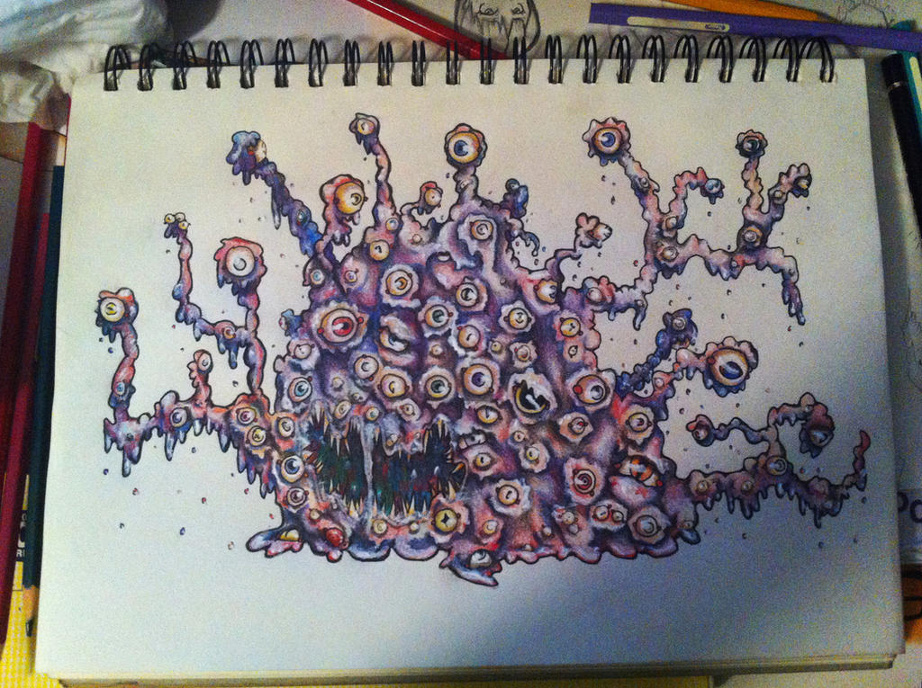 Shoggoth by AkatsukiMemberWoolfy