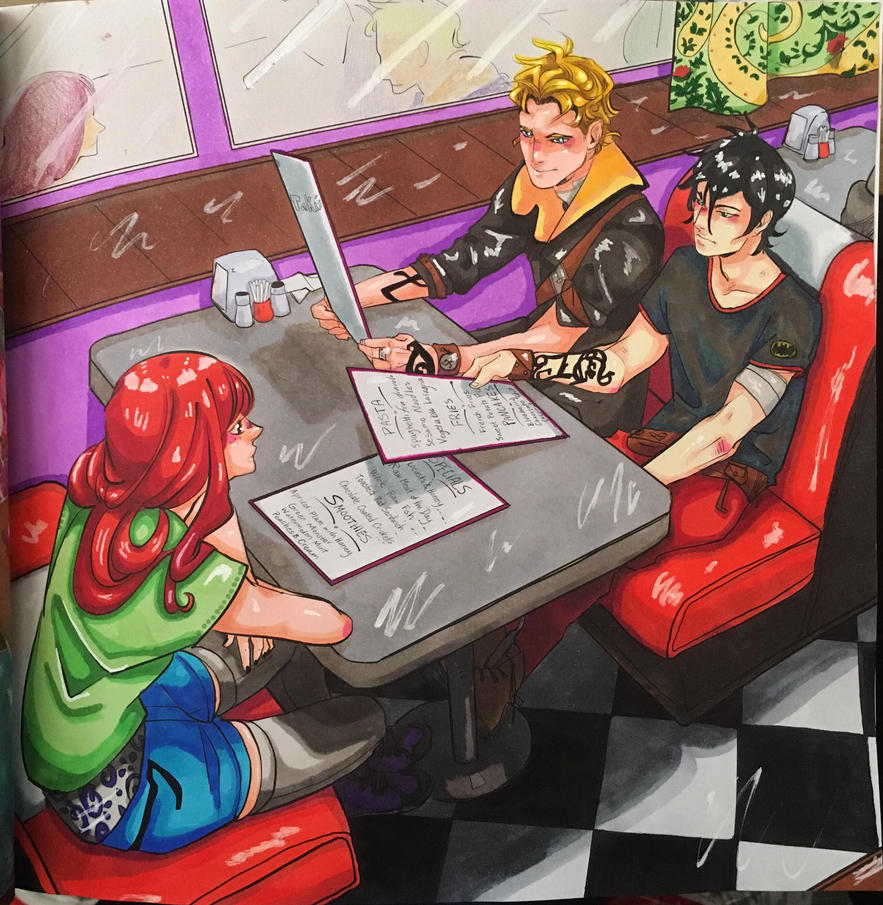 The Mortal Instruments Colouring