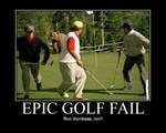Epic Golf Fail