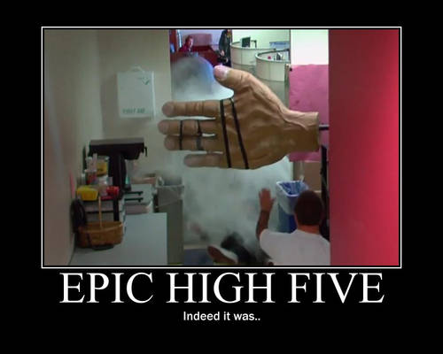 An Epic High Five