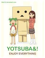 Yotsuba by hika12i