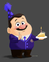 Happy Birthday Gene! by AricaTuesday
